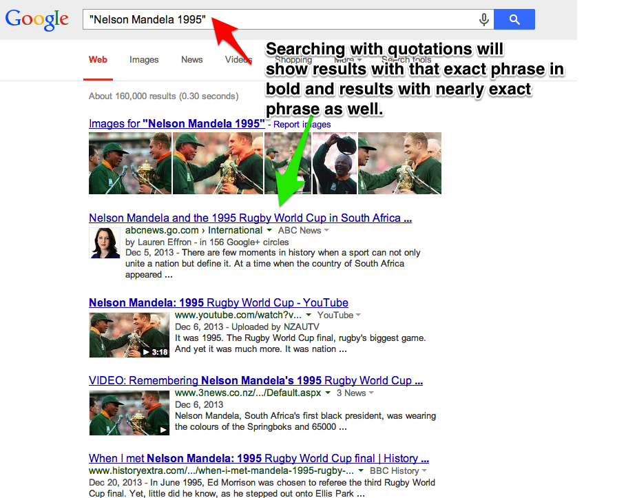 improve search skills quotations