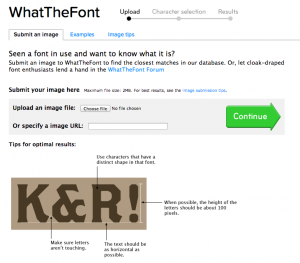 How to Figure Out a Font With What the Font